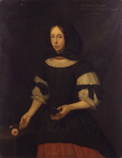 Unknown woman, formerly known as Elizabeth Cromwell (née Steward), by S.J. Dügy - NPG 1771