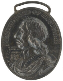 Oliver Cromwell ('The Dunbar Medal'), by Thomas Simon - NPG 4365