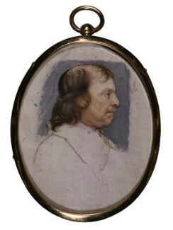 Oliver Cromwell, attributed to Samuel Cooper - NPG 5274
