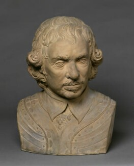 Oliver Cromwell, after a bust by Edward Pearce - NPG 132