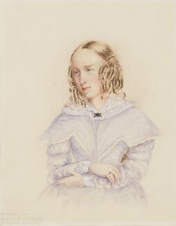 George Eliot (Mary Ann Cross (née Evans)), by Caroline Bray - NPG 1232