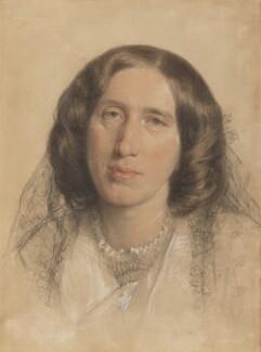 George Eliot (Mary Ann Cross (née Evans)), by Sir Frederic William Burton, 1865 - NPG 669 - © National Portrait Gallery, London