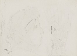 George Eliot, by Laura Theresa (née Epps), Lady Alma-Tadema - NPG 2211