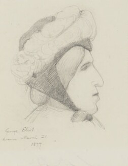 George Eliot, by Laura Theresa (née Epps), Lady Alma-Tadema - NPG 1758