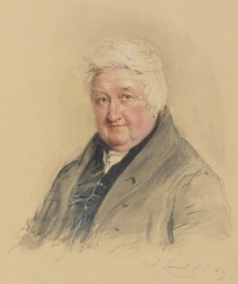 William Crotch, by John Linnell - NPG 1812