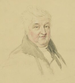 William Crotch, by John Linnell - NPG 1813
