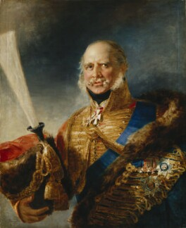 Ernest Augustus, Duke of Cumberland and King of Hanover, by George Dawe - NPG 3309