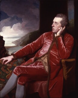 Richard Cumberland, by George Romney - NPG 19