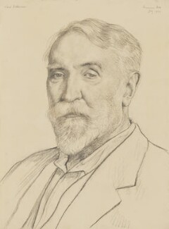 Edgar Vincent, Viscount d'Abernon, by Francis Dodd - NPG 3862