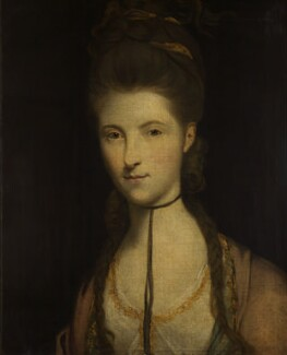 Anne Seymour Damer (née Conway), studio of Sir Joshua Reynolds - NPG 594