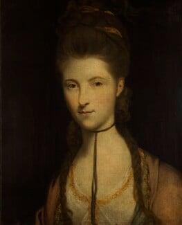 Anne Seymour Damer (née Conway), studio of Sir Joshua Reynolds, based on a work of 1772-1773 - NPG 594 - © National Portrait Gallery, London