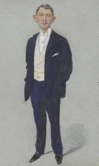 John George Butcher, Baron Danesfort, by Sir Leslie Ward - NPG 2657