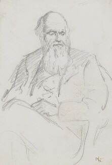 Charles Darwin, by Marian Collier (née Huxley), 1878 - NPG 3144 - © National Portrait Gallery, London