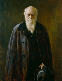 Charles Darwin, copy by John Collier - NPG 1024