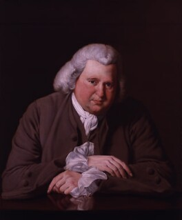 Erasmus Darwin, after Joseph Wright, based on a work of probably 1770s - NPG 88 - © National Portrait Gallery, London