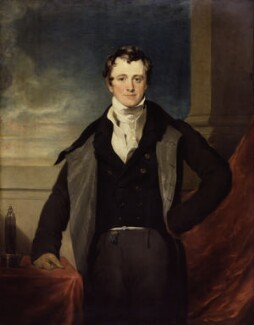 Sir Humphry Davy, Bt, after Sir Thomas Lawrence - NPG 1573