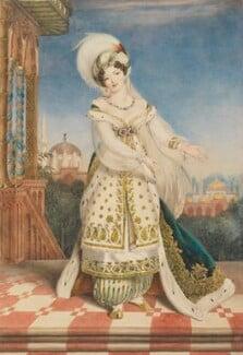 Claudine de Begnis (née Ronzi), by Alfred Edward Chalon, circa 1823 - NPG  - © National Portrait Gallery, London
