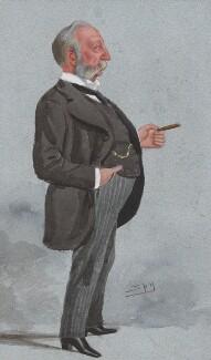 Sir Polydore de Keyser, by Sir Leslie Ward - NPG 2570