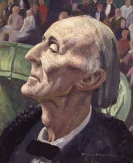 Frederick Delius, by Ernest Procter - NPG 3861