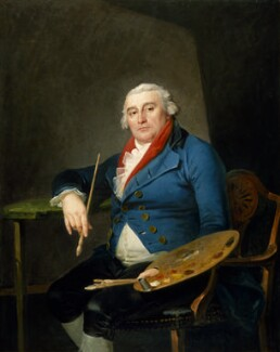 Philippe Jacques de Loutherbourg, by Philippe Jacques de Loutherbourg, 1805-1810 - NPG  - © National Portrait Gallery, London