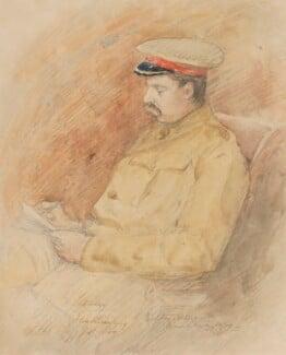 Edward George Villiers Stanley, 17th Earl of Derby, by Inglis Sheldon-Williams, 1900 - NPG 4039(2) - © National Portrait Gallery, London