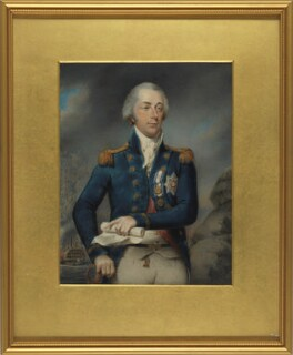 James Saumarez, 1st Baron de Saumarez, by Philip Jean - NPG 2549