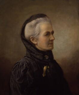 Charlotte Despard (née French), attributed to Charles Mendelssohn Horsfall - NPG 4345