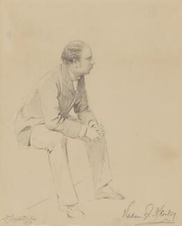 Hudson Ewbanke Kearley, 1st Viscount Devonport, by Frederick Sargent - NPG 4483