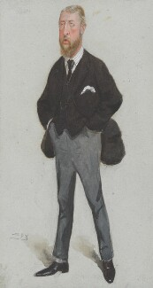Spencer Compton Cavendish, 8th Duke of Devonshire, by Sir Leslie Ward, published in Vanity Fair 21 July 1888 - NPG 3191 - © National Portrait Gallery, London