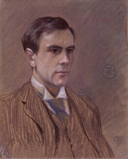 Goldsworthy Lowes Dickinson, by Roger Fry, 1893 - NPG 3151 - © National Portrait Gallery, London