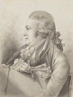 Robert Dighton, by Robert Dighton, circa 1787 - NPG  - © National Portrait Gallery, London