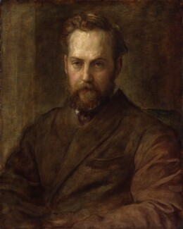 Sir Charles Wentworth Dilke, 2nd Bt, by George Frederic Watts, 1873 - NPG 1827 - © National Portrait Gallery, London