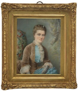 Emilia Francis (née Strong), Lady Dilke, by Charles Camino, 1882 - NPG 1828 - © National Portrait Gallery, London