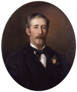 Harold Lee-Dillon, 17th Viscount Dillon, by Georgina Agnes Brackenbury - NPG 2623