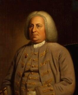 Robert Dinwiddie, by Unknown artist, circa 1760-1765 - NPG 1640 - © National Portrait Gallery, London