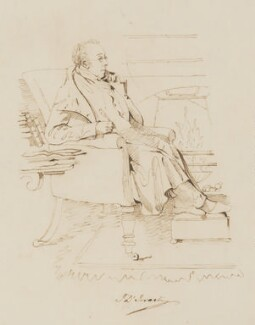 Isaac D'Israeli, after Daniel Maclise - NPG 3092