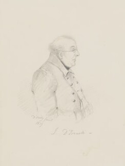 Isaac D'Israeli, by Alfred, Count D'Orsay - NPG 3772