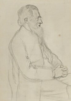 Richard Watson Dixon, by William Rothenstein - NPG 3171