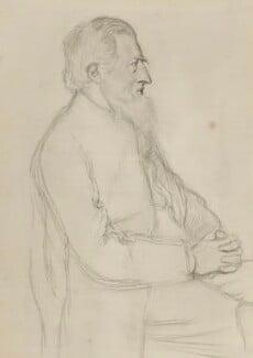 Richard Watson Dixon, by Sir William Rothenstein, 1897 - NPG 3171 - © National Portrait Gallery, London