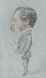 (Henry) Austin Dobson, by Albert Rowan Fairfield - NPG 2208