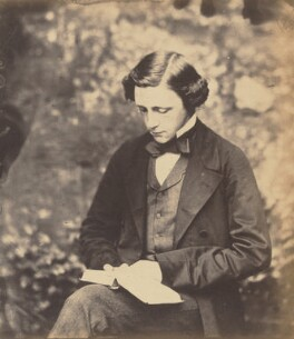 Lewis Carroll, by Lewis Carroll, circa 1857 - NPG  - © National Portrait Gallery, London