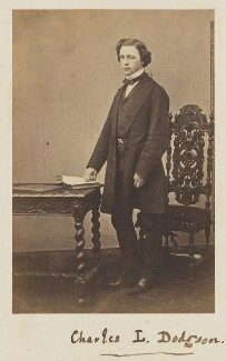 Lewis Carroll, by Unknown photographer - NPG P38