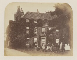 Lewis Carroll and his family at Croft Rectory, probably by Robert Wilfred Skeffington Lutwidge - NPG P32