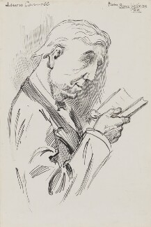 Lewis Carroll, by Harry Furniss,  - NPG 2609 - © National Portrait Gallery, London