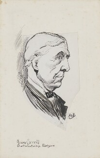 Lewis Carroll, by Harry Furniss - NPG 3629