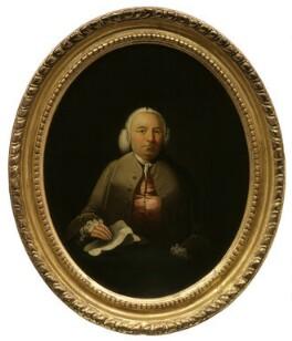 Robert Dodsley, attributed to Edward Alcock, 1760? - NPG 1436 - © National Portrait Gallery, London