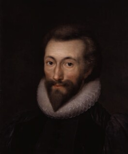 John Donne, after Isaac Oliver - NPG 1849