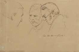 Various heads including, Richard Hely-Hutchinson, 1st Earl of Donoughmore, by Sir George Hayter - NPG 2662(29)