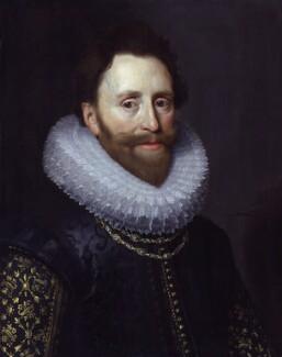 Dudley Carleton, Viscount Dorchester, by Michiel Jansz. van Miereveldt - NPG 3684