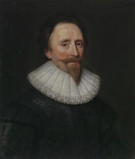 Dudley Carleton, Viscount Dorchester, studio of Michiel Jansz. van Miereveldt - NPG 110